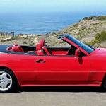 dirtyoldcars.com 1994 Mercedes E320 AMG Cabriolet Found in Redondo Beach Calfiornia 12