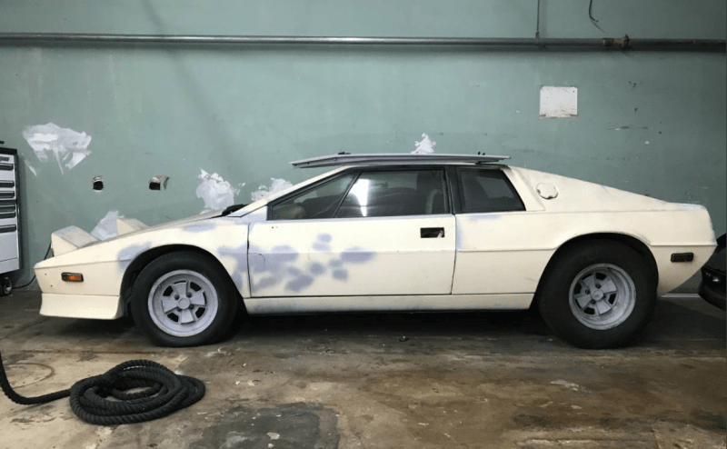 dirtyoldcars.com  1978 Lotus Esprit Champion Edition Found in Miami Florida   15
