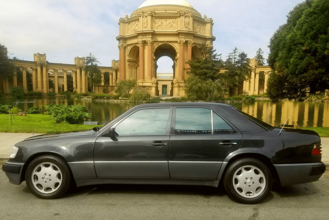 dirtyoldcars.com 1992 Mercedes 500E Found in Pacific Heights San Francisco California 9