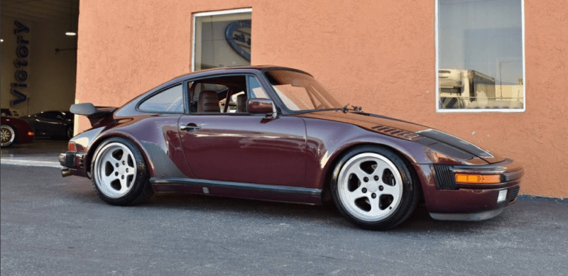 dirtyoldcars.com  1984 Porsche 911 RUF BTR Turbo Slant Nose Found in Miami Florida   8