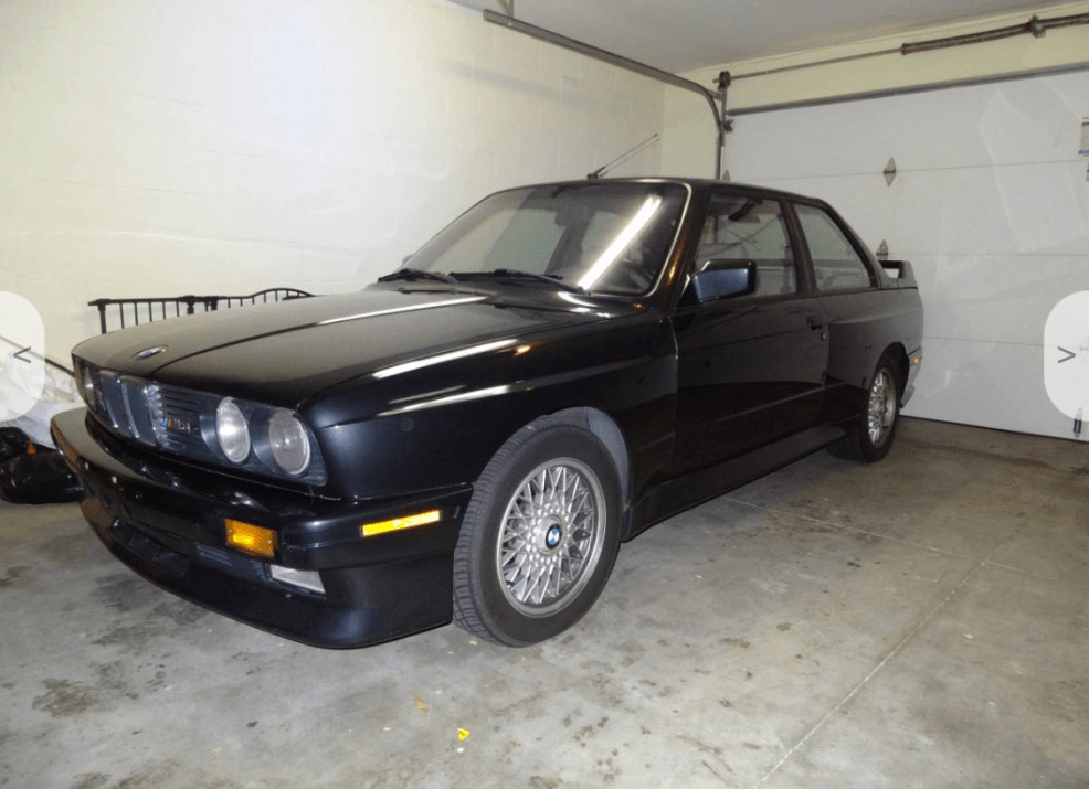 dirtyoldcars.com 1988 BMW Black E30 M3 Found in Lomita California 20