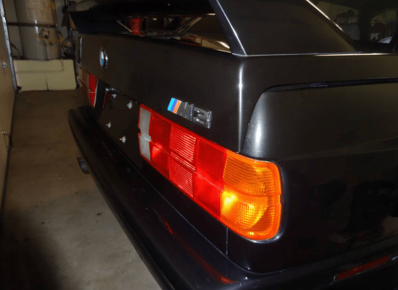 dirtyoldcars.com  1988 BMW Black E30 M3 Found in Lomita California  17
