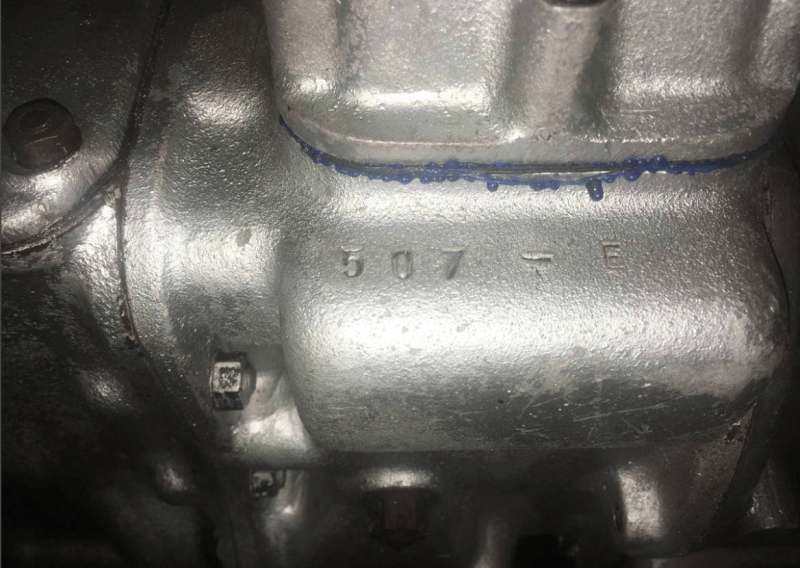 dirtyoldcars.com  1963 Ferrari V12 250 Engine and Transmission Found in Costa Mesa California   2