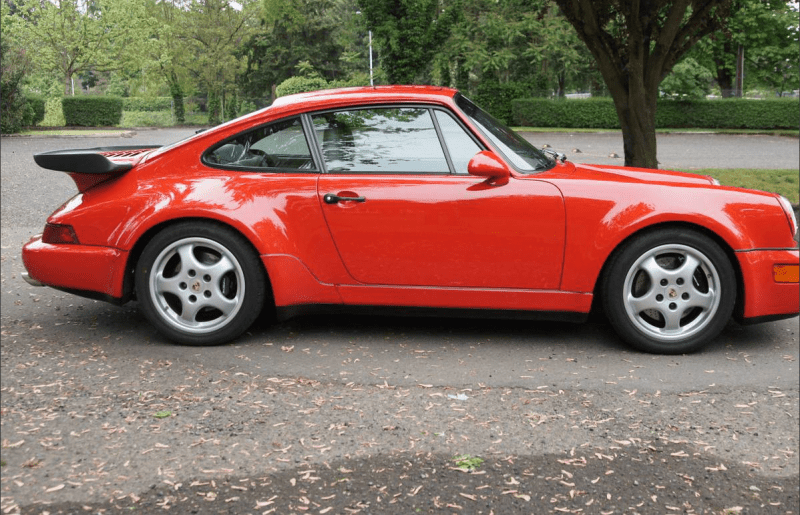 dirtyoldcars.com 1992 Porsche 911 Turbo S2 (1 of 20 ) US Market Road Legal Cars 11