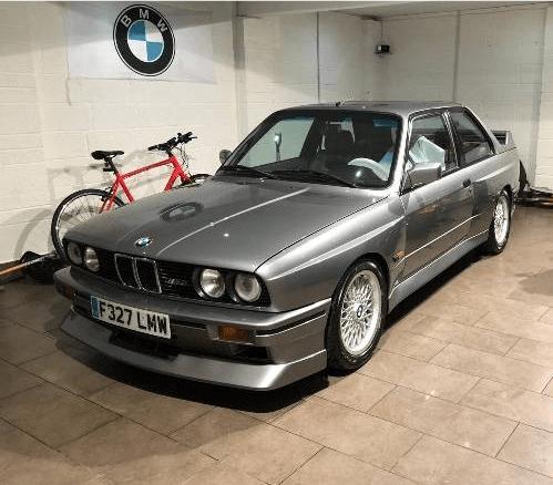 dirtyoldcars.com 1989 BMW E30 M3 EVO 2 Found in England 8