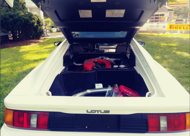 dirtyoldcars.com   1989 Lotus Esprit Turbo SE  White Found in New Jersey   2