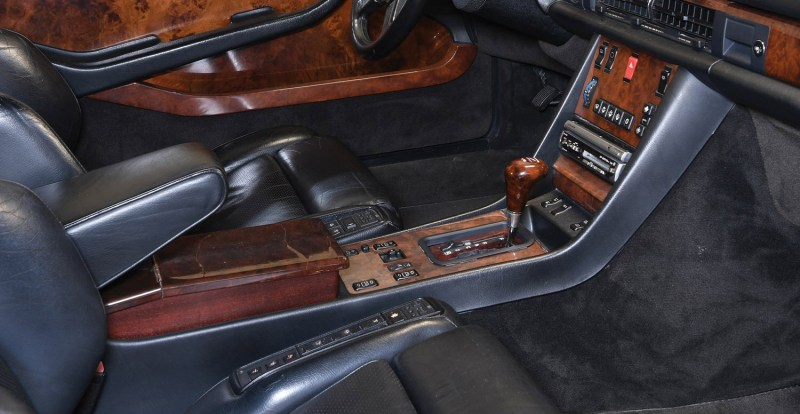 dirtyoldcars.com 1989 Mercedes 560 SEC AMG 6.0 Wide Body For Sothebys Auction Amelia Island 2
