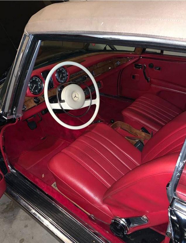 dirtyoldcars.com  Mercedes Benz Package Deal 1968 250 SE Cabriolet 1971 300 SEL 6.3     3