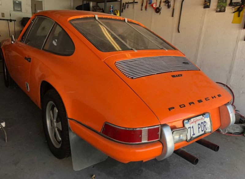 dirtyoldcars.com  1971 Porsche 911T Found in Fremont  San Francisco  Race Car  3