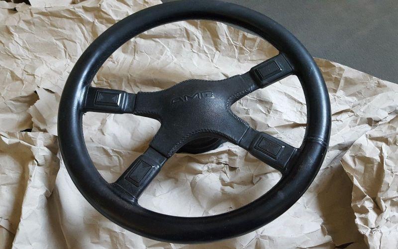 dirtyoldcars.com  New original AMG Steering wheel  1