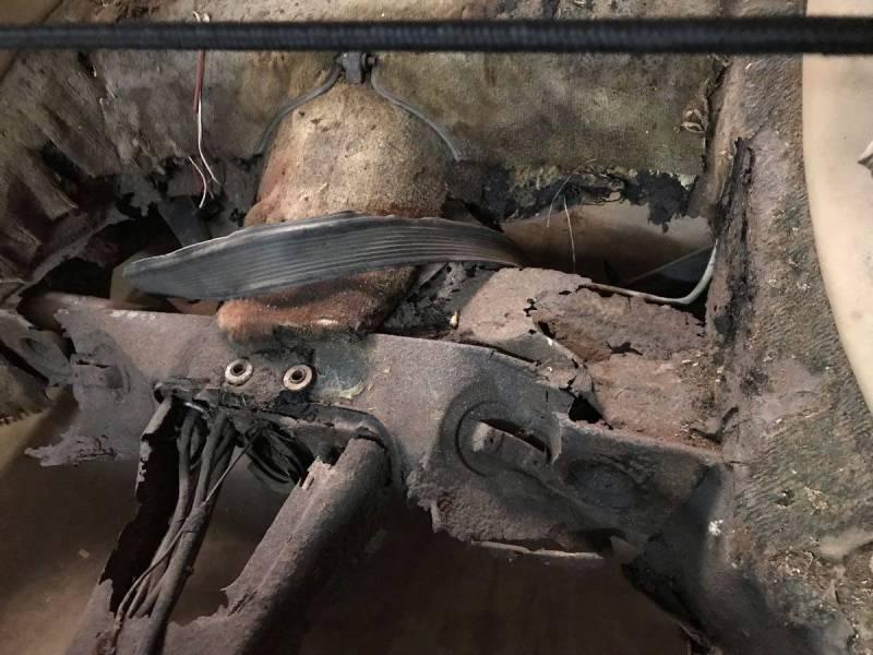 dirtyoldcars.com   1966 Porsche 911 shell sacramento   2