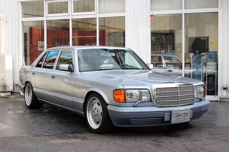 dirtyoldcars.com  Mercedes 1991 560SEL 6.0-4V for sale   5