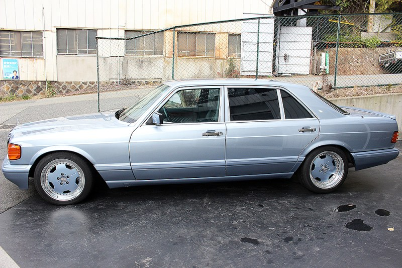 dirtyoldcars.com  Mercedes 1991 560SEL 6.0-4V for sale   6