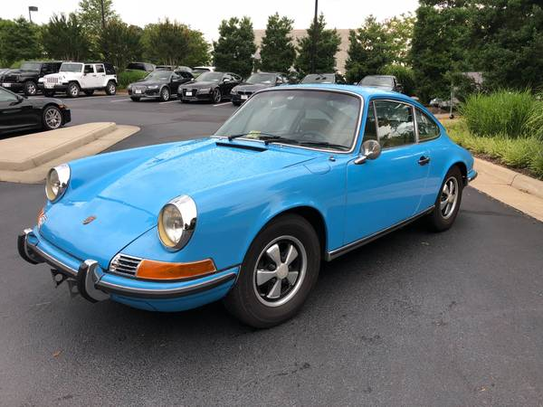 dirtyoldcars.com  Porsche 911T  1970  Houston Texas  3