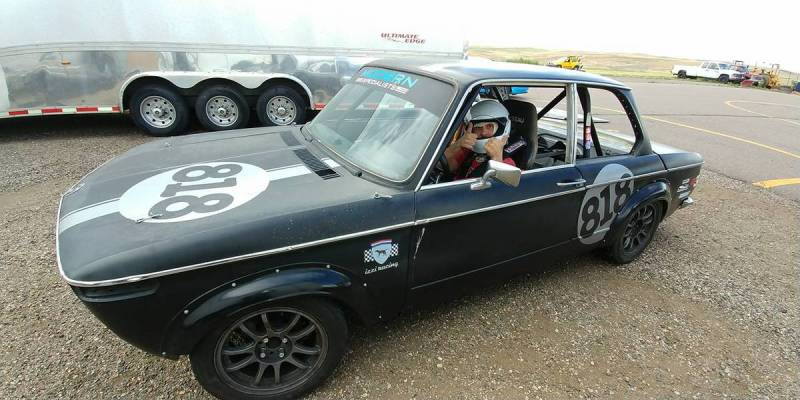 dirtyoldcars.com   1972 bmw 200tii race car colorado   9