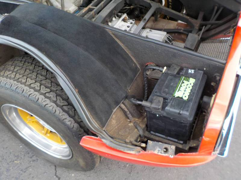 dirtyoldcars.com  1970 detomaso mangusta  new york 249k    9