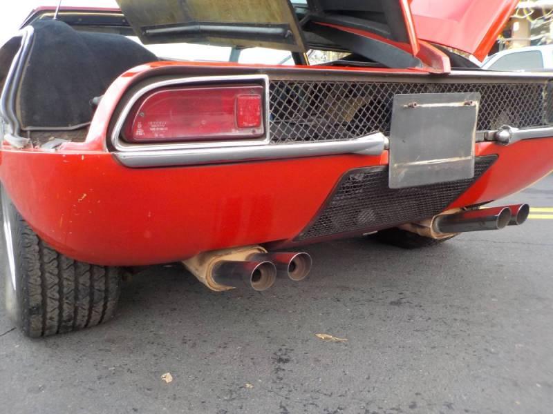 dirtyoldcars.com  1970 detomaso mangusta  new york 249k    12
