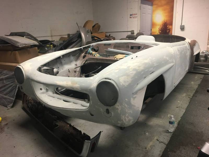 dirtyoldcars.com   Mercedes 1955 190 SL  Project Florida  2