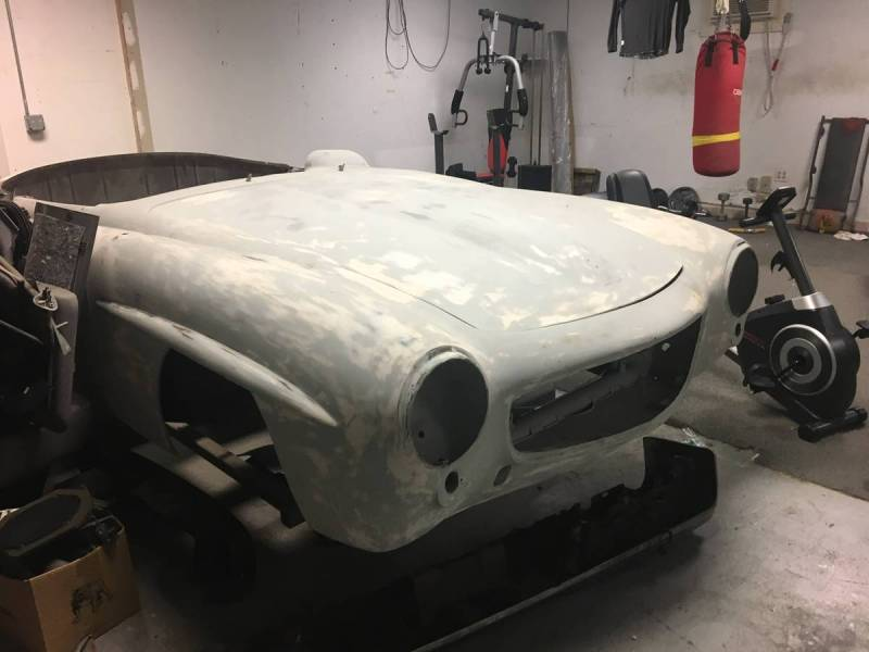 dirtyoldcars.com   Mercedes 1955 190 SL  Project Florida  4