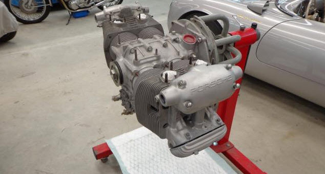 dirtyoldcars.com Porsche 4 Cam Type 547 Engine  FOR SALE 300K   2