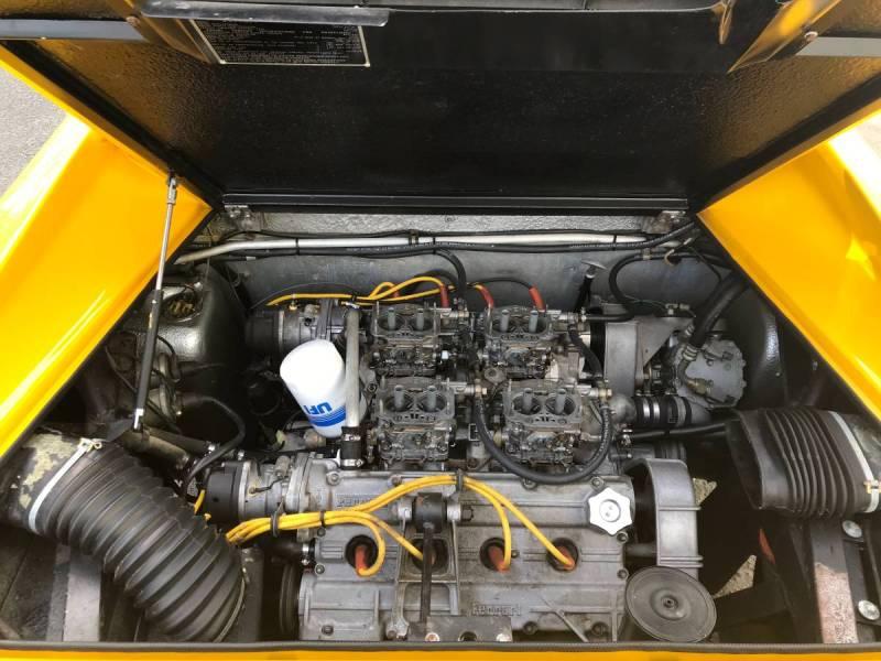 dirtyoldcars.com  1975 ferrari 308 gt4  yellow boxer scheme  47k   52k miles  Connecticut  8