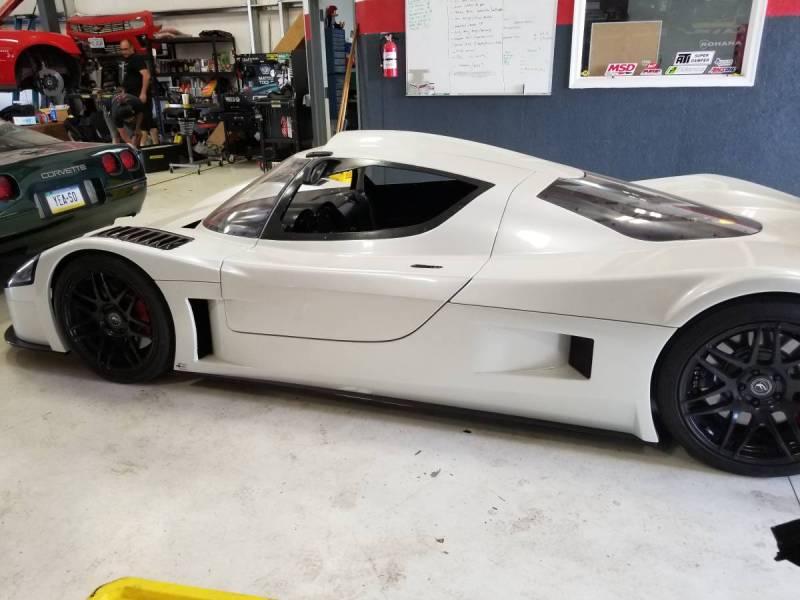 dirtyoldcars.com   Corvette Race Car Replica Superlite coupe  Seattle  74k   7