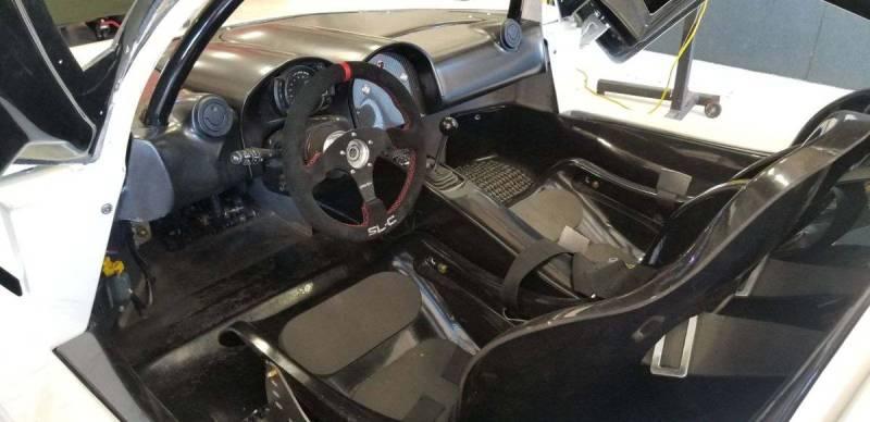 dirtyoldcars.com   Corvette Race Car Replica Superlite coupe  Seattle  74k   9