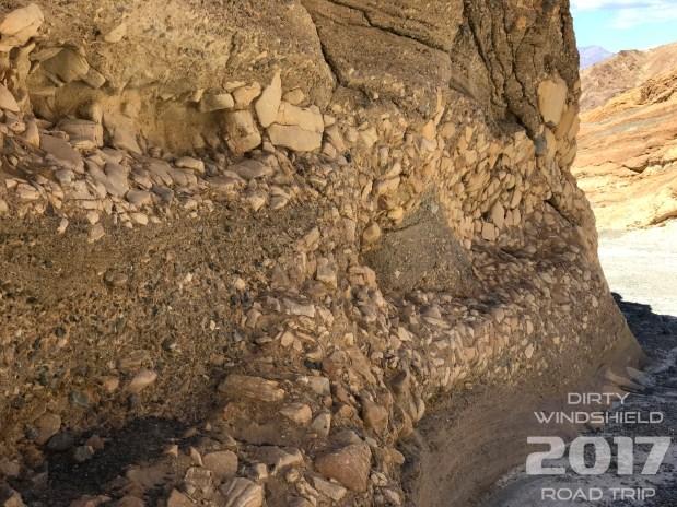 Mosaic Rock Walls, Mosaic Canyon Trail, Death Valley National Park