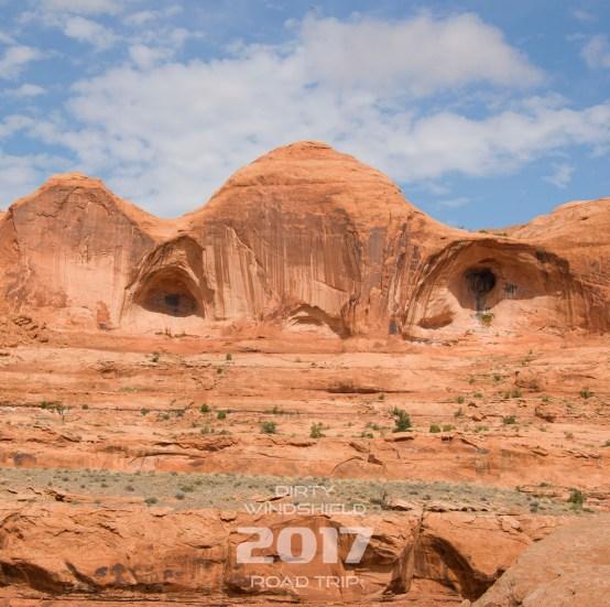 Arches Peeking