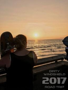 Watching My First California Sunset, Venice Beach