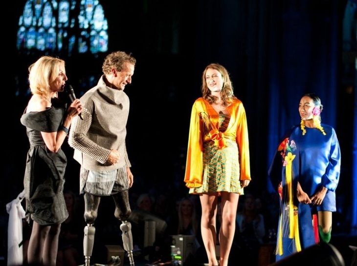 Fashanne Awards with Lucy Martin and Parlympian Richard Whitehead