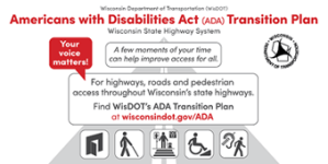 ADA Transition Plan Promotional picture, with details available in post.