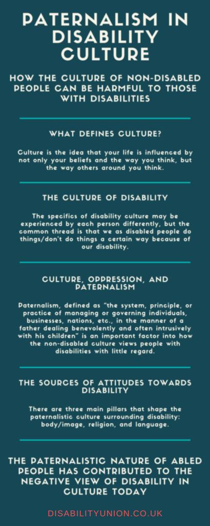 Paternalism in Disability Culture