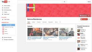Screen shot from Hammer's YouTube site: https://www.youtube.com/user/HammerResidences?blend=2&ob=0