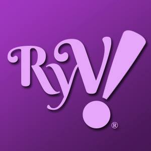 Purple image with large letters: RYV!