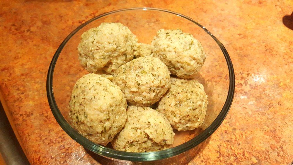 Instant Pot Matzoh Ball Soup – Matzoh Balls Step 12