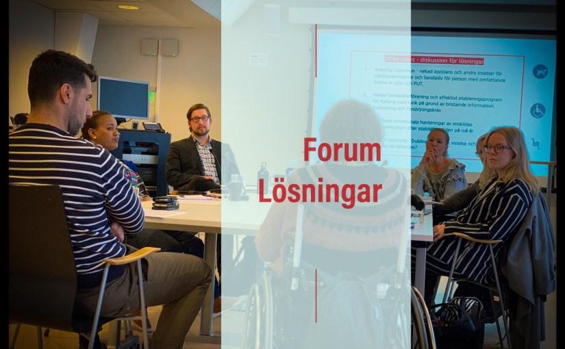 (Svenska) Nya insikter genom Forum Lösningar