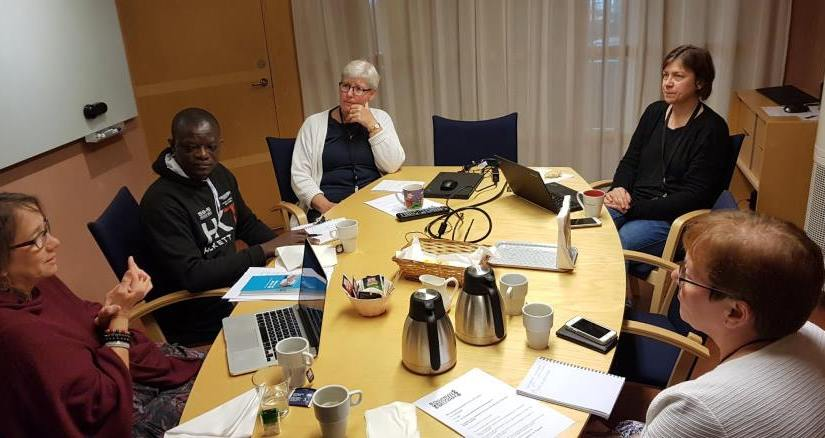 DRW cooperation meeting with Svenska kyrkan