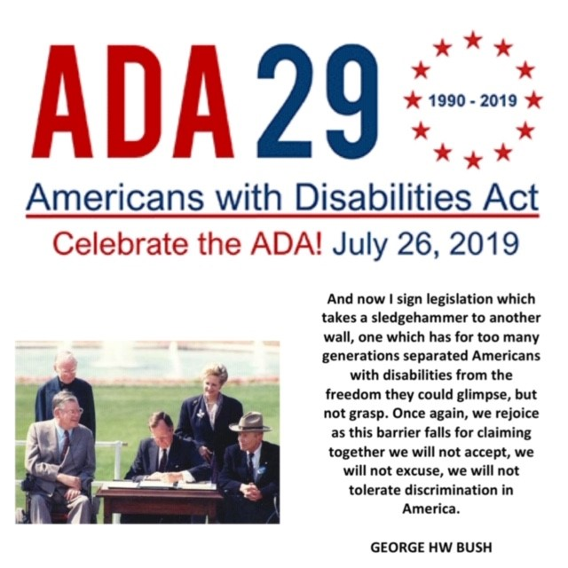 Celebrating the Americans with Disabilities Act (ADA)