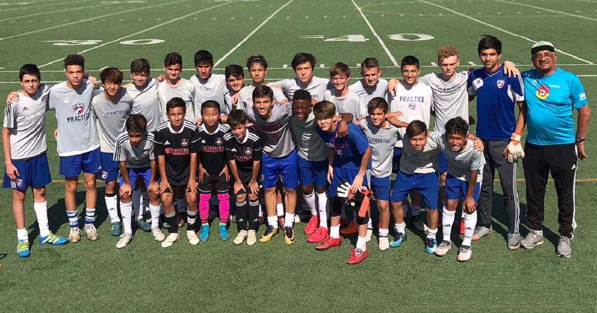 DISA Players Experience MLS training with FC Dallas Academy