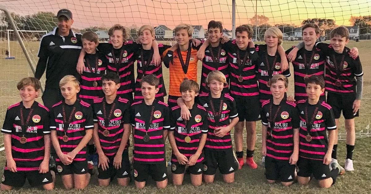 U14 DISA Ajax - Boys u14 Champions