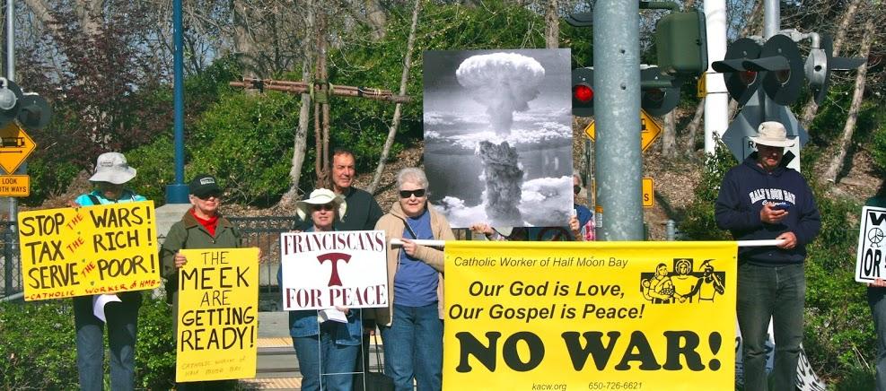 Good Friday - Walking the Way of the Cross to Lockheed Martin (1/3)