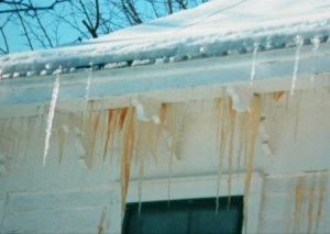 ice dam damage - DONAN Solutions