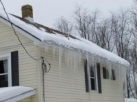 Ice Damming: Detection, Cause & Prevention