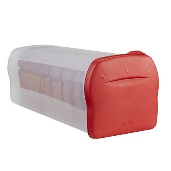 Rubbermaid 1832489 Specialty Food Storage Containers Bread Keeper Red NEW 1
