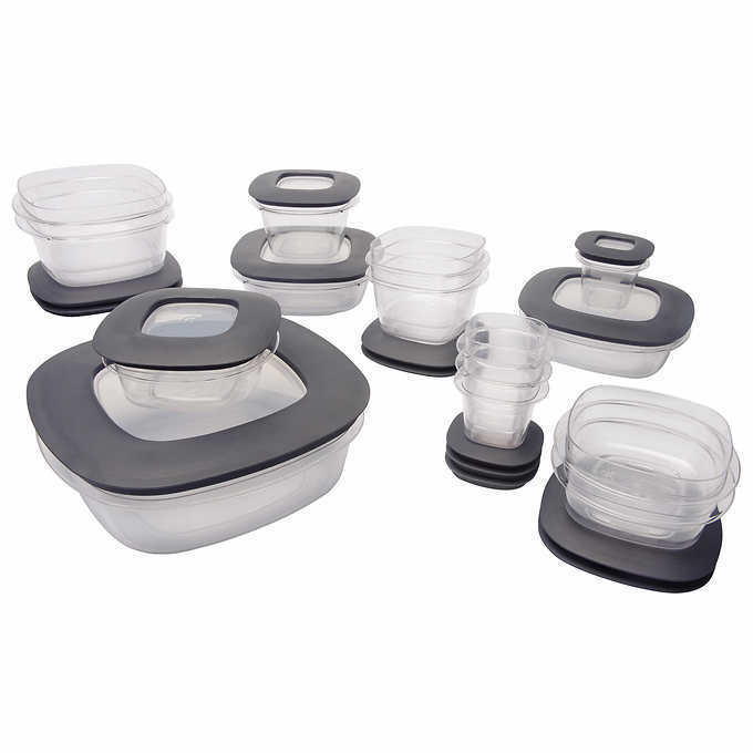 Rubbermaid Premier 30 Piece Food Storage Set with Easy Find Lids New in Box 1