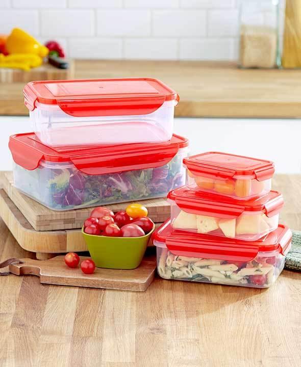 10-Pc. Locking Food Storage Set - 1