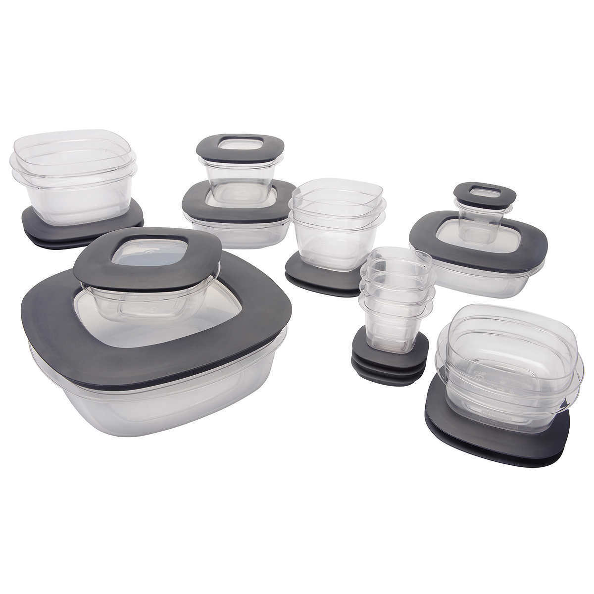 MADE IN USA Rubbermaid Premier 30 Piece Food Storage Set  Flex & Seal™ BPA FREE 1