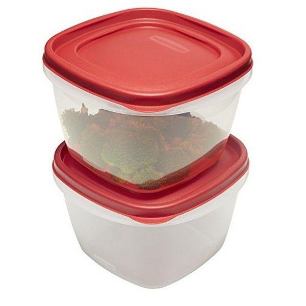 Rubbermaid 1777181 Easy Find Lid Food Storage Set- 7 Cup- 2 Piece Set NEW 1
