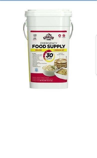 Augason Farms Basic Emergency Food Pail (1 person, 30 days) Survival Storage 1